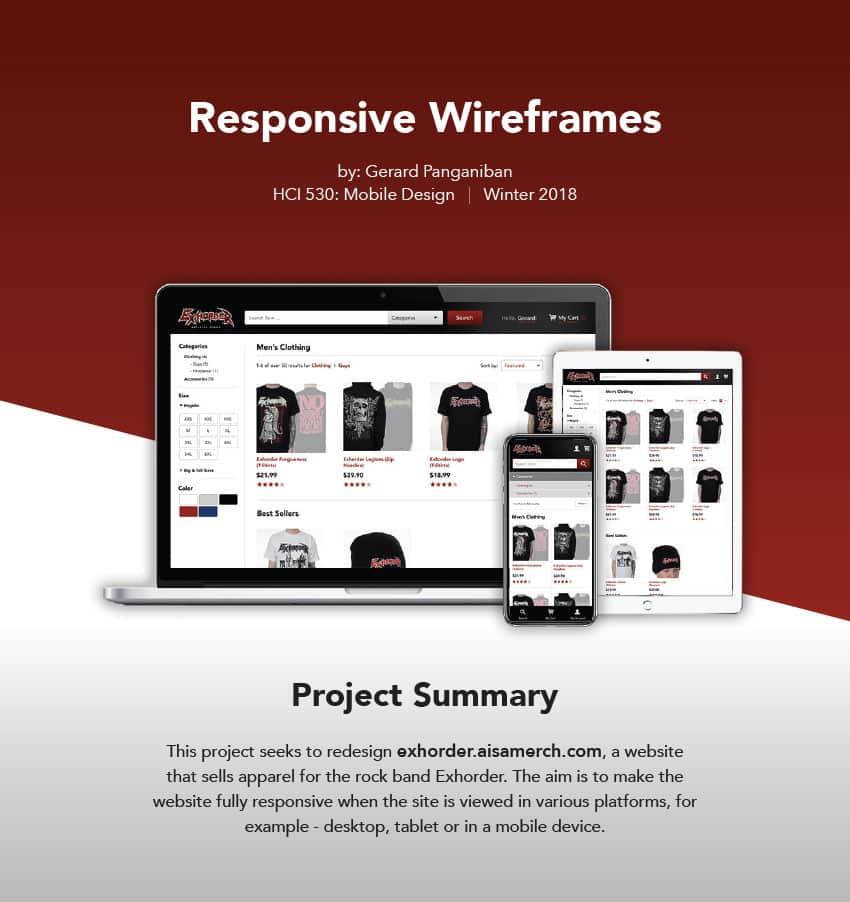 Responsive Wireframes