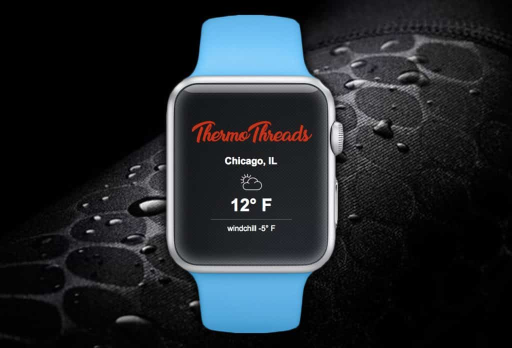 iWatch Prototype App for Thermothreads