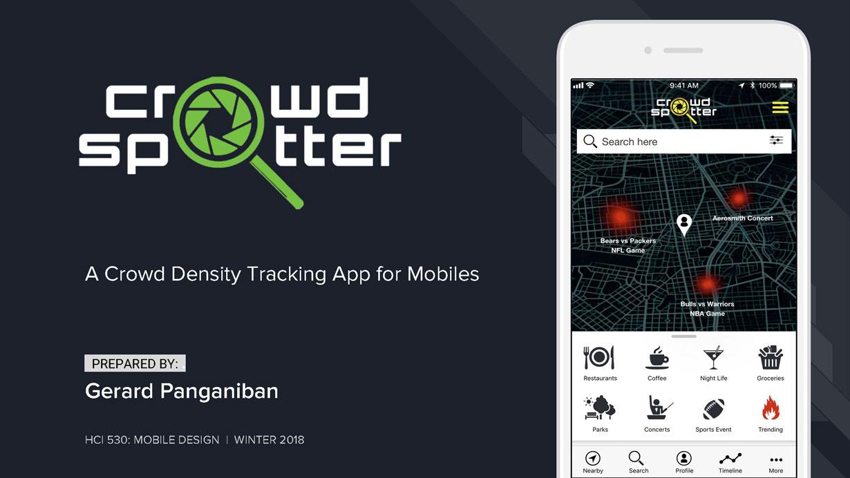 Crowd Spotter Mobile App
